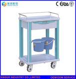 مستشفى أثاث لازم [مولتي-وس] فولاذ طبيّة عقّار تسليم حامل متحرّك/عربة