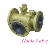 Em forma de T Corretor de comutação da Válvula de Esfera Flutuante (GQ45F/H)