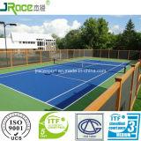 La bufferizzazione eccellente mette in mostra la pavimentazione per la corte di tennis