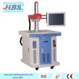 Centros de ajuste automático de 20W marcadora láser de fibra con la aguja roja