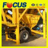 Planta de procesamiento por lotes por lotes del cemento móvil del precio de fábrica 50cbm/H