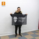 安い価格によって印刷されるポリエステルメッシュ生地の旗