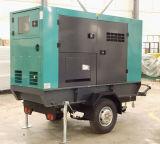 68KW de potência eléctrica do tipo silencioso gerador a diesel com motor Lovol