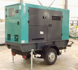 Lovolエンジンを搭載する68kw無声タイプ電力のディーゼル発電機