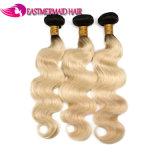 Реми волосы шторки Омбре Color 1b/613 волосы Wefts человеческого волоса Бразилии