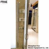 Doccia semplice della casella dell'acquazzone della baracca dell'acquazzone dello schermo di acquazzone della stanza da bagno di vetro Tempered con la mensola