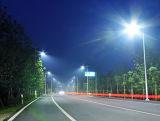 Double lampes LED solaire éclairage de rue avec pôle pour chemin de la route Garden Square