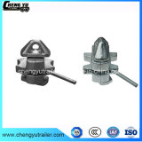Halb Schlussteil-Verschluss-Behälter-Gussteil-Stahl-Torsion-Verschluss