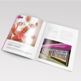 薄紙表紙の本の印刷サービスは、印刷をカスタム設計する