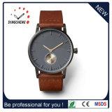 革バンド(DC-1439)が付いている古典的な方法デザイン日本Movt水晶腕時計