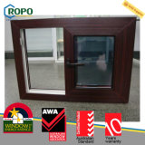 UPVC/PVC 목제 색깔 슬라이딩 윈도우, 비닐 Windows