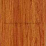 Foglio di PVC granuloso di legno decorativo di alta lucentezza per la pressa della membrana