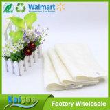 Pano de bambu da fibra da cozinha da lavagem da limpeza branca do petróleo da vara não