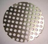 Acero inoxidable Chapas perforadas disco de filtro