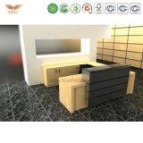 顧客用一義的な現代安いオフィスの木製のフロント