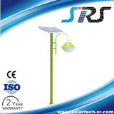 Luz del jardín del LED solar de SENIORES