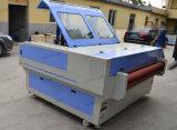 Máquina de corte a laser de CO2 para Taxtile/saco/pano/Jeans