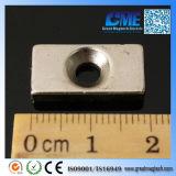 強いN52希土類ブロックのCountertsunkのネオジムの磁石