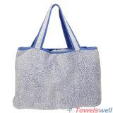 袋が付いている携帯用綿のMicrofiberのラウンジチェアタオル