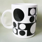 tazza di ceramica bianca di promozione 11oz