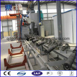 Máquina de sopro da areia para a parede da tubulação de aço e a máquina de polonês internas