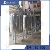 SUS304 Chaqueta climatizada depósito mezclador vasija del reactor de acero inoxidable