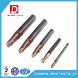 Utensili per il taglio del laminatoio di estremità della punta della sfera del carburo di alta precisione