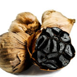 Чеснок здоровой еды черный от чисто овоща чеснока