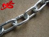 Bruscamente catena a maglia saldata galvanizzata DIN766