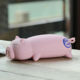 New Piggy Multiple Port Cute Portable Power Bank avec RoHS