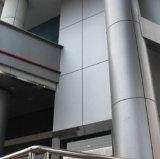 Hyperbolique ou panneau en aluminium de flexion