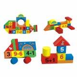 Houten Bouwsteen voor Magnetische Blok van de Bouwstenen van het Stuk speelgoed van Jonge geitjes het Houten Voor Jonge geitjes