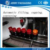 Máquina automática de enchimento e torneamento de garrafas de vidro líquidas de seringas de vitaminas