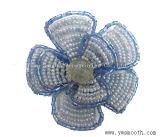 Строка из моды валики шифон кружево многоцветные цветы декоративные аксессуары для одежды