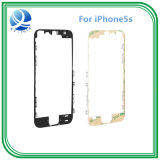 für iPhone 5s ursprüngliches LCD anhaftendes schwarzes Weiß der Anzeigetafel-Feld-vorderes Anzeigetafel-Halterung-3m