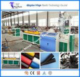 작은 직경 플라스틱 물결 모양 관 밀어남 선/밀어남 기계/만들기 기계