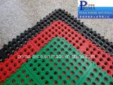 Установите противоскользящие резиновые различных коврик