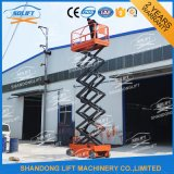 Hydraulic Self Propelled Scissor Window Cleaning elevator with Ce