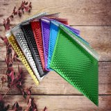 Sacos metálicos claros coloridos Anti-Shock do envelope da bolha da folha de alumínio