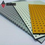 Ideabond дополнительный экран резки с ЧПУ Алюминиевый композитный материал