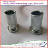Long de l'écrou hexagonal de cuivre DIN6334 Écrou d'Accouplement en laiton