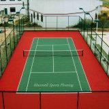 Plastic Gebruikt Binnen van de Vloer van het Tennis van de Sporten van pvc van het Broodje
