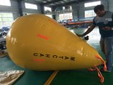 Teste de carga à prova de acostar cheio de água sacos de peso