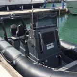 Barca della nervatura della vetroresina di Aqualand 18feet 5.4m/barca gonfiabile rigida/tuffo/vettura/salvataggio/pattuglia di immersione subacquea (RIB540A)