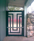 2018年のWoughtの鉄の外部の出入口の機密保護の庭ゲート