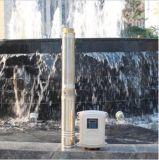 Angeschaltene Solarwasser-Solarpumpe des Wasser-Pumpe Sola Systems-4inch
