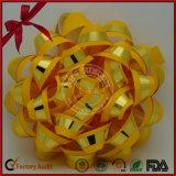 Arqueamiento de la estrella de la cinta del oro de la fábrica para la decoración