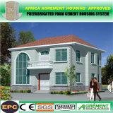 De lujo baratos de la luz de la casa de cemento de prefabricados de estructura de acero prefabricada Villa