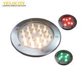 12W/24W 높은 광도 IP68 RGB LED 방수 수영풀 옥외 샘 빛