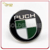 Cortar Design Soft Enamel Metal Lapel Pin com Glitter